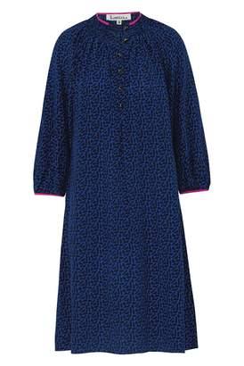 Libelula Hartford Dress Doggie Print Blue