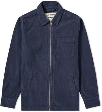 Portuguese Flannel Fecho Corduroy Zip Shirt Jacket