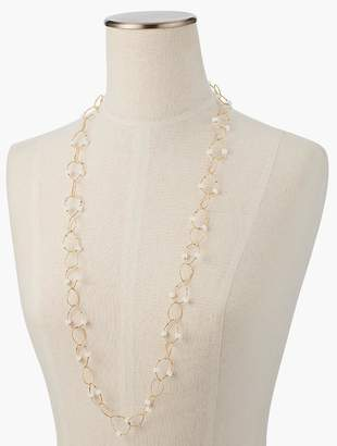 Talbots Bead & Link Necklace