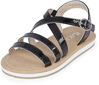 Children's Place The Girls' E TG Multi SS Flat Sandal