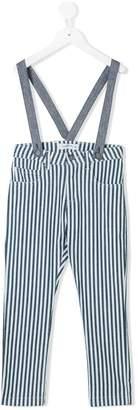 Manuel Ritz Kids striped jeans with braces