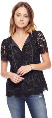 Juicy Couture Bucharest Floral Lace Top