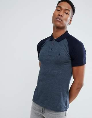 French Connection Raglan Polo Shirt