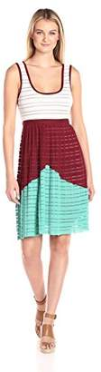 Plenty by Tracy Reese Women's Devore Rib Tank Dress