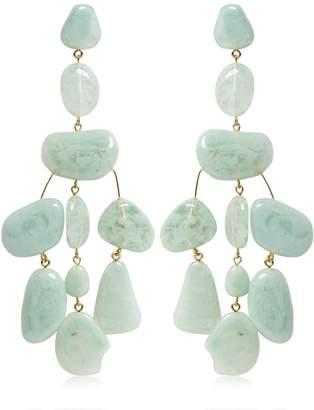 Cult Gaia Sloane Acrylic Drop Earrings