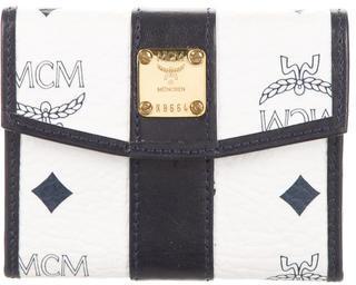 MCMMCM Visetos Compact Wallet