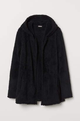 H&M Fleece Cardigan - Black