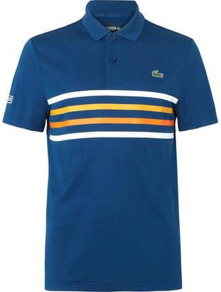 Lacoste Tennis Striped Piqué Tennis Polo Shirt