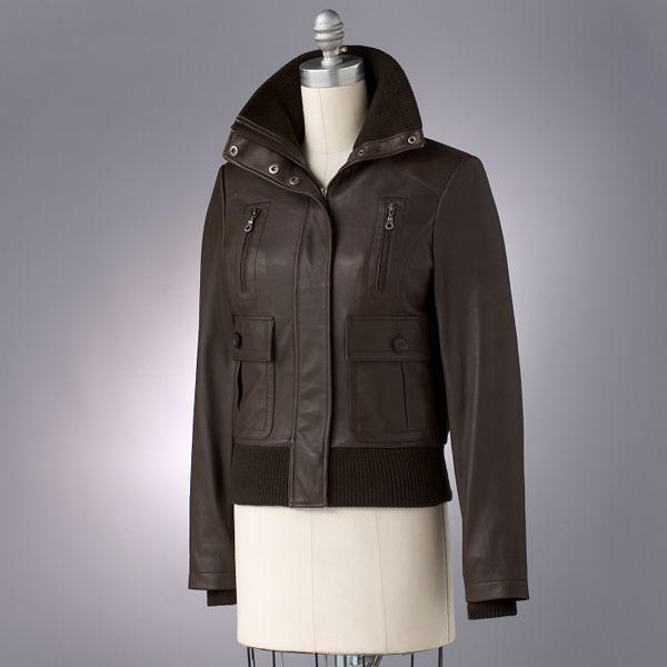 R&o Leather Bomber Jacket