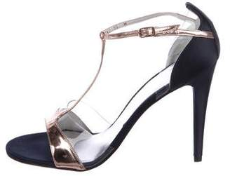 Stuart Weitzman Sincity T-Strap Sandals w/ Tags