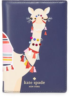 Kate Spade New York Camel Passport Holder $98 thestylecure.com