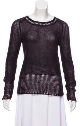See by Chloe Long Sleeve Scoop Neck Sweater