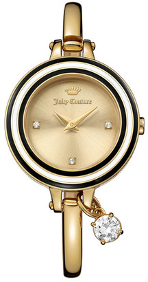 Juicy Couture Women's Melrose Crystal Bangle Watch $250 thestylecure.com