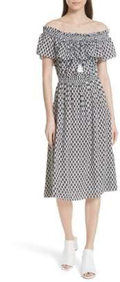 Kate Spade arrow stripe dress