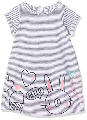 Mothercare Girl's Hello Bunny Dress,(Size:104CM)