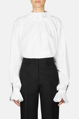 J.W.Anderson Pleated Collar Shirt - White
