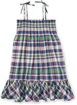 Ralph Lauren Cotton Madras Dress
