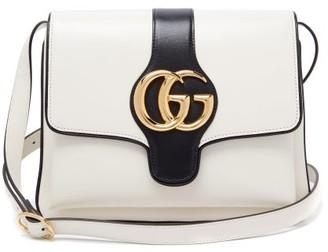 Gucci Arli Gg Leather Cross Body Bag - Womens - White Multi