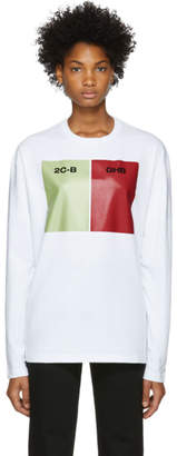 Raf Simons White Capsule Long Sleeve T-Shirt