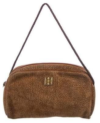 Givenchy Vintage Suede Shoulder Bag