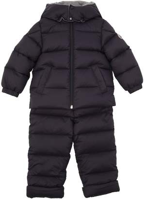 Moncler Durfort Hooded Nylon Down Coat & Pant