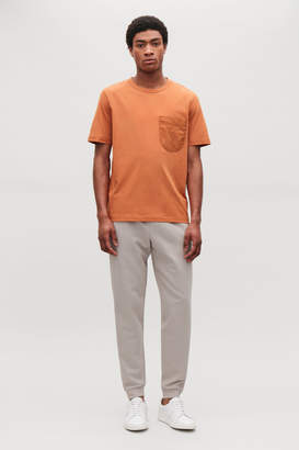 Cos T-SHIRT WITH NYLON POCKET