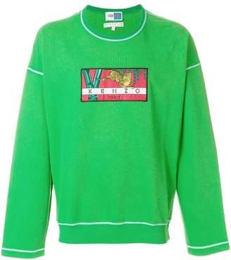 Kenzo tiger patch sweatshirt