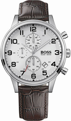HUGO BOSS 1512447 Steel chronograph watch $315 thestylecure.com