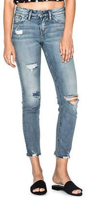 Silver Jeans Suki Slim-Fit Ankle Jeans