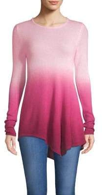 Lord & Taylor Asymmetric Cashmere Sweater