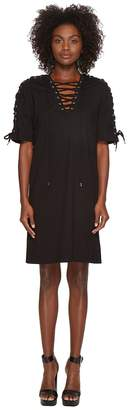 McQ Laced Tee Dress Women's Dress