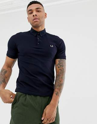 Fred Perry oxford polo in navy