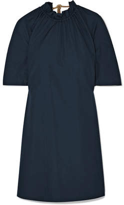 Roksanda Daena Cotton Dress - Midnight blue