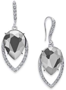 INC International Concepts I.n.c. Crystal Halo Drop Earrings, Created for Macy's