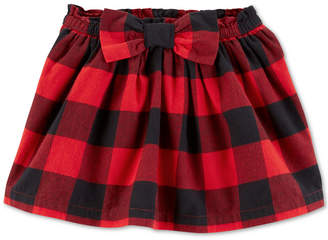 Carter's Carter Toddler Girls Buffalo-Check Skirt