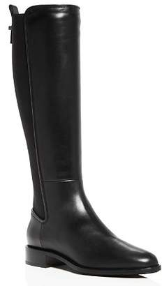 Aquatalia Women's Nastia Weatherproof Leather Low-Heel Riding Boots