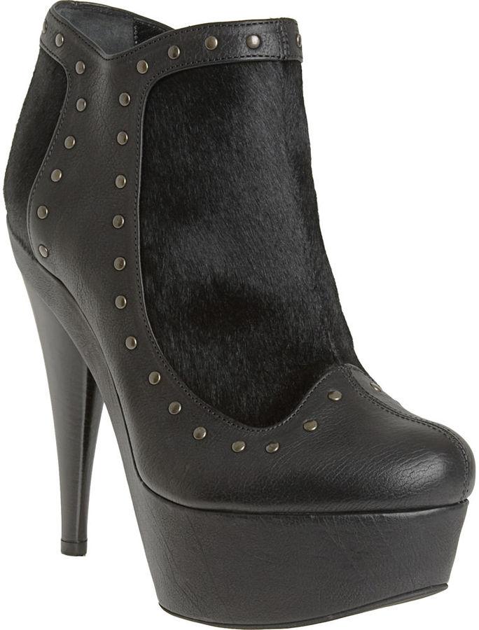 Fendi Studded Platform Boot - Black