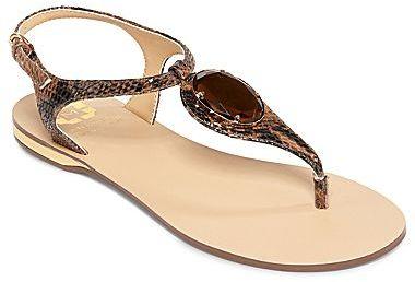 Monet Jewel Embellished Thong Sandals