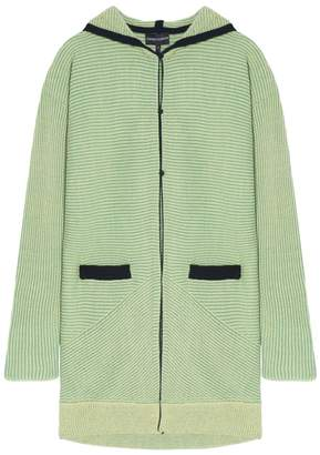 Emporio Armani Ribbed Knit Cardigan