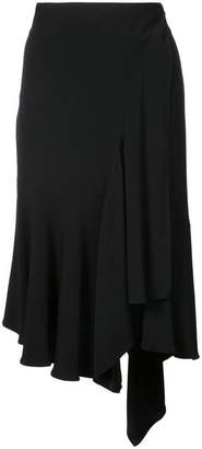 Nicole Miller waterfall hem midi skirt
