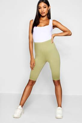 boohoo Basic Cotton Elastane Cycling Short