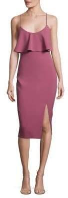LIKELY Dionne Flounce Sheath Dress