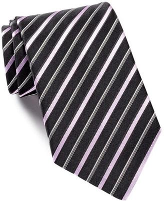 HUGO BOSS Silk Diagonal Stripes Tie $95 thestylecure.com
