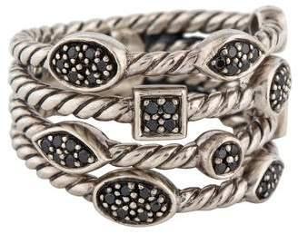 David Yurman Black Diamond Confetti Ring