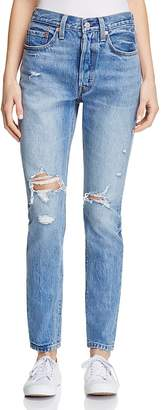 Levi's 501® Skinny Jeans in Old Hangouts $98 thestylecure.com