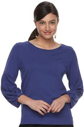 Apt. 9 Women's Twisted Crewneck Sweater