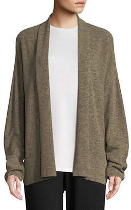 Eileen Fisher V-Neck Bell Sleeve Cardigan