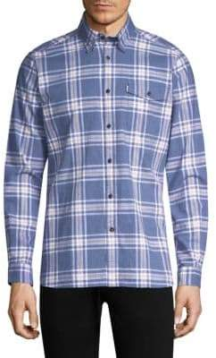 Barbour Elver Cotton Button-Down Shirt