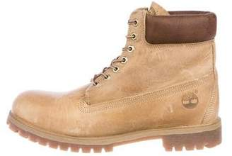 Timberland Nubuck Hiking Boots