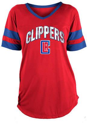 5th & Ocean Women Los Angeles Clippers Mesh T-Shirt